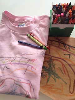 Sandpaper Transfer Tee Shirts- East and Cheap!