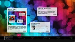 Creates nice visual timelines where you can add video, pictures and details.
