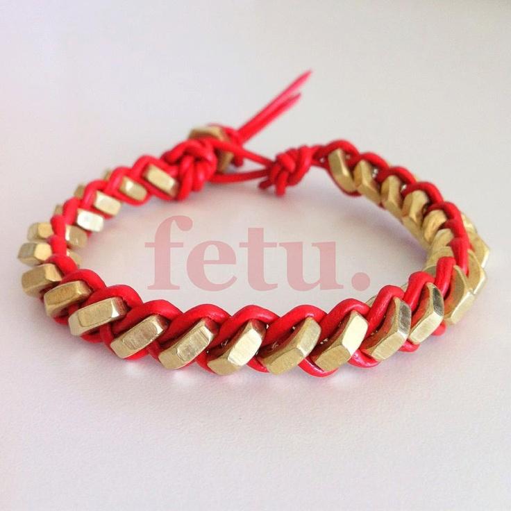 Industrial Hex Nut Bracelet