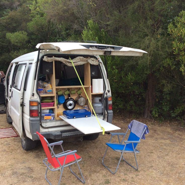 les 11 meilleures images du tableau mitsubishi l300 sur pinterest vie en van caravane et. Black Bedroom Furniture Sets. Home Design Ideas