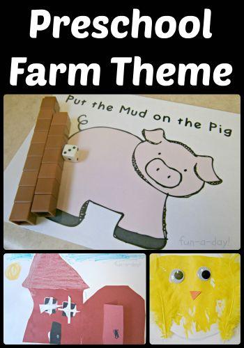 15 Ideas for a Preschool Farm Theme - Fun-A-Day!