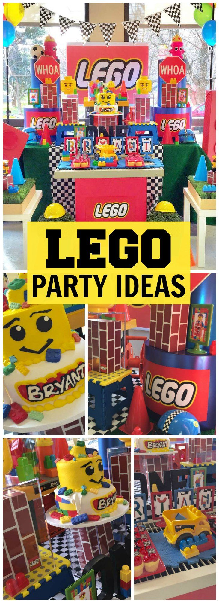 350 best Lego Party Ideas images on Pinterest Birthday party