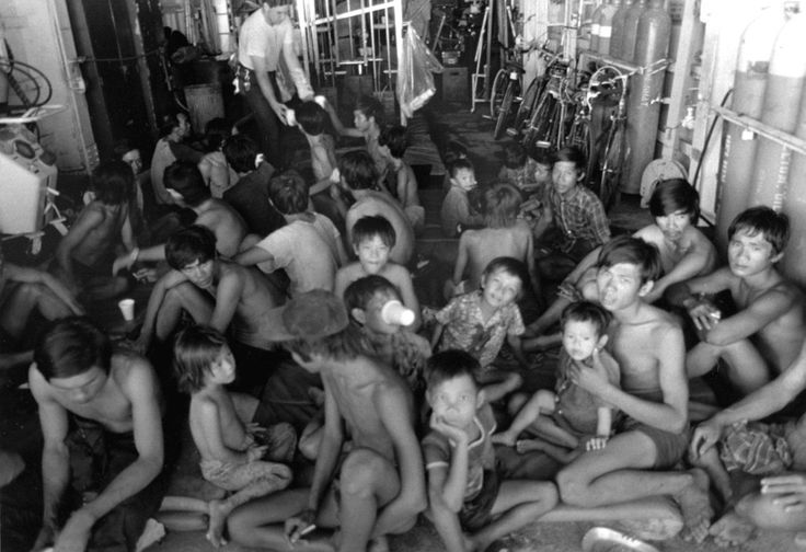 Processed Vietnamese refugees - Vietnamese boat people - Wikipedia