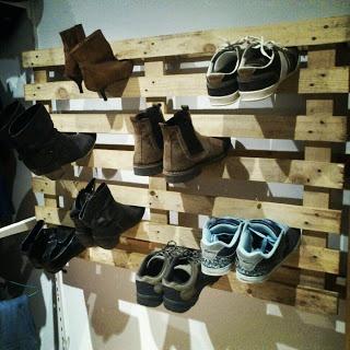 Pallet Shoe Cabinet