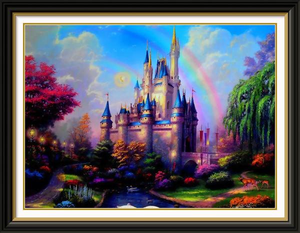 Thomas Kinkade - Cinderella Castle