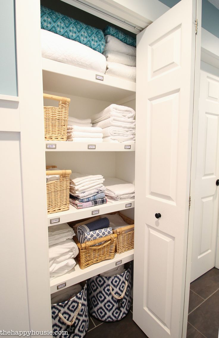 High Quality How To Completely Organize Your Linen Closet Idea