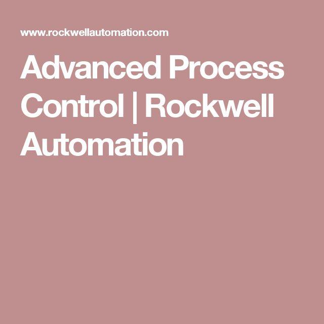 Advanced Process Control   Rockwell Automation