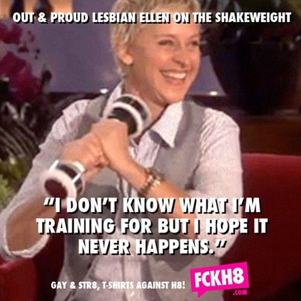 I <3 Ellen DeGeneres!  Holy Crap!! This is hilarious!!
