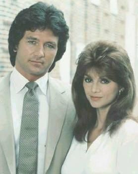 Bobby and Pam Ewing (Patrick Duffy and Victoria Principal) - Dallas TV Show 1978-91
