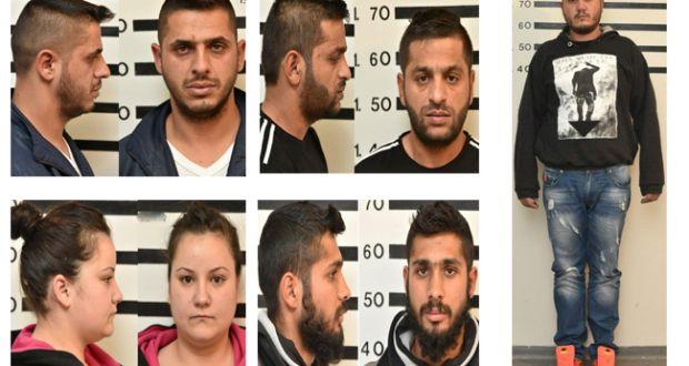 AYTA είναι τα 14 μέλη εγκληματικής ομάδας που διέπραττε ληστείες και κλοπές! Στη δημοσιότητα οι φωτογραφίες τους…
