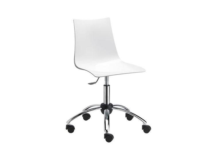 Krzesło Biurowe Zebra Antishock V białe — Krzesła Machina Meble — sfmeble.pl
