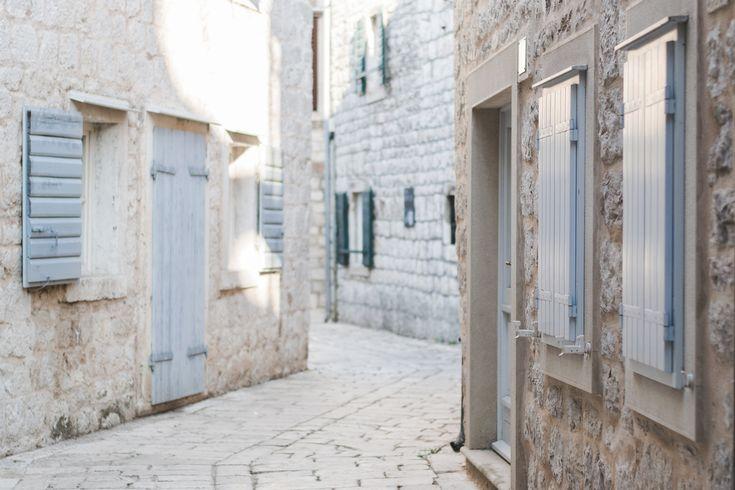 The strees of Stari Grad, Hvar, Croatia - from travel blog: http://Epepa.eu