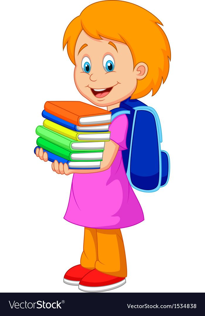 Картинки дети несут книги