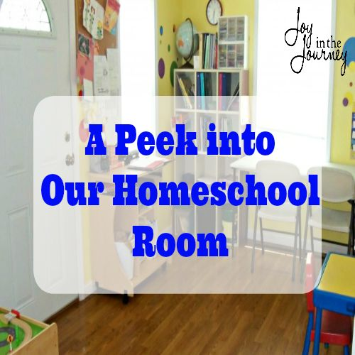 Peek into Home Learning Space