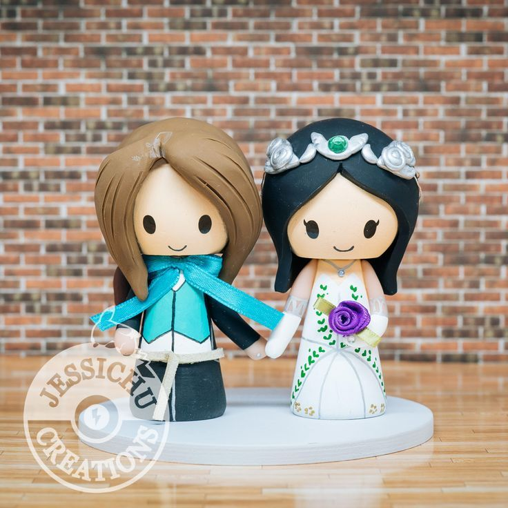 final fantasy wedding cake toppers 47 best geeky wedding cake topper by jessichu creations 14247