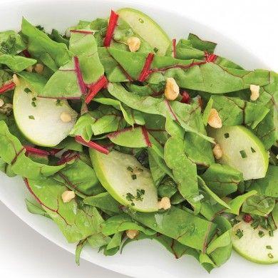 Salade de mini-bettes à carde aux pommes et noix - Recettes - Cuisine et nutrition - Pratico Pratique