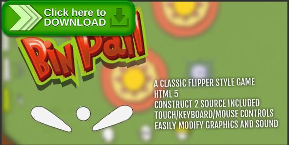 [ThemeForest]Free nulled download Bin Pall from http://zippyfile.download/f.php?id=39150 Tags: ecommerce, arcade, ball, C2, capx, classic, colorful, construct, construct 2, flipper, game, html5, ios, mobile, pin, pinball