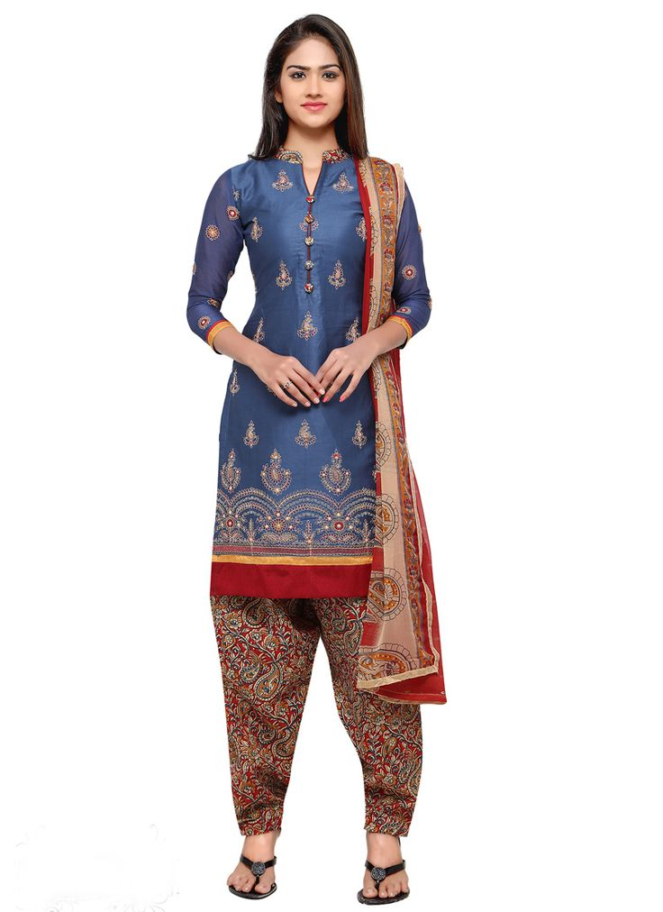 Blue #Cotton #Straight #Cut #Shalwar #Kameez #nikvik  #usa #designer #australia #canada #freeshipping #ceremonial #pakistani