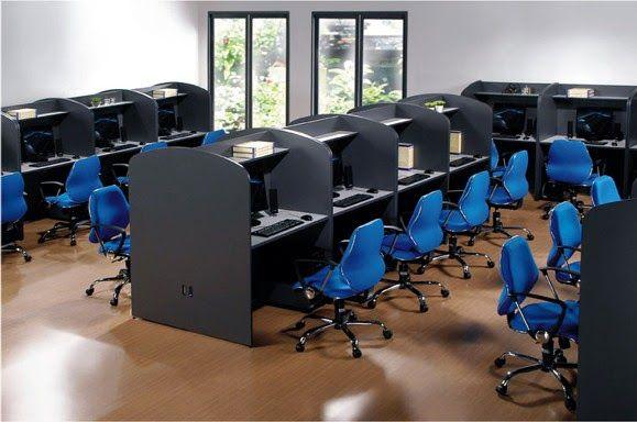 Furniture Design For Cyber Cafe Con Imagenes Cafes Modernos