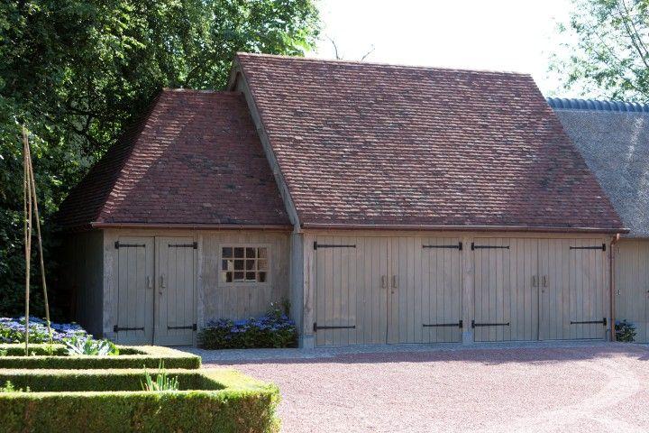 Houten Carport, Garage in Eik   Bogarden