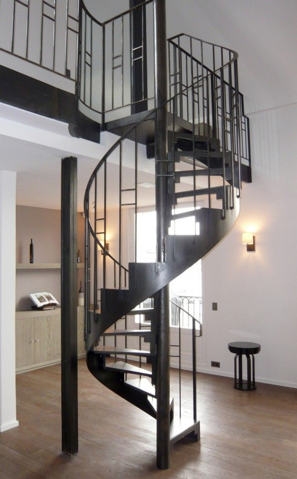 1000 images about un escalier h lico dal en colima on en spirale gain de place on pinterest. Black Bedroom Furniture Sets. Home Design Ideas