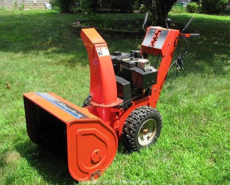Pin by John Bloomquist on Small Engines Snow blowers