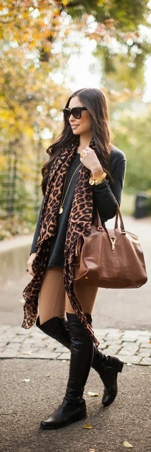 Leopard, a little goes a long way