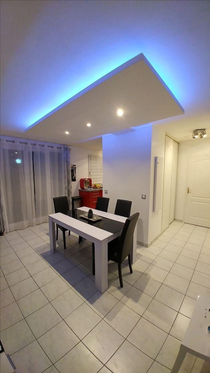 les 25 meilleures id es de la cat gorie faux plafond led sur pinterest eclairage led plafond. Black Bedroom Furniture Sets. Home Design Ideas