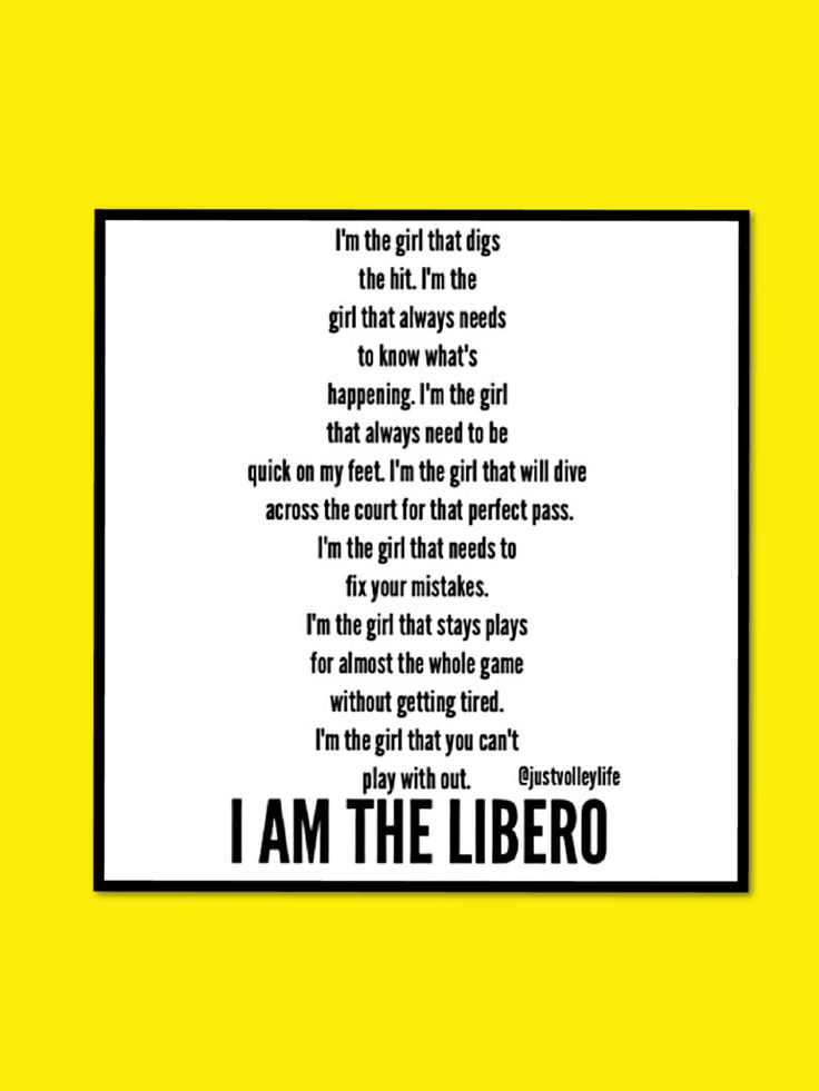 Libero love! I LOVE THIS QUOTE!!!!