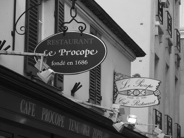 Resultado de imagen para le procope paris antique photo