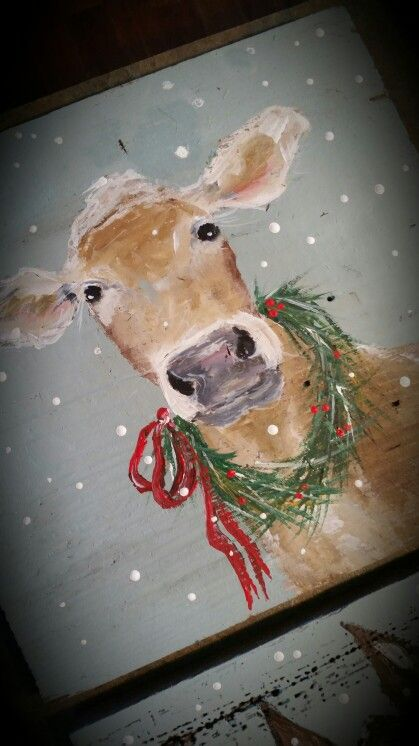 Christmas cow                                                                                                                                                                                 More