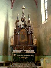 Târnava, Biserica evanghelică fortificată, Foto: Dr. Hermenn Fabini