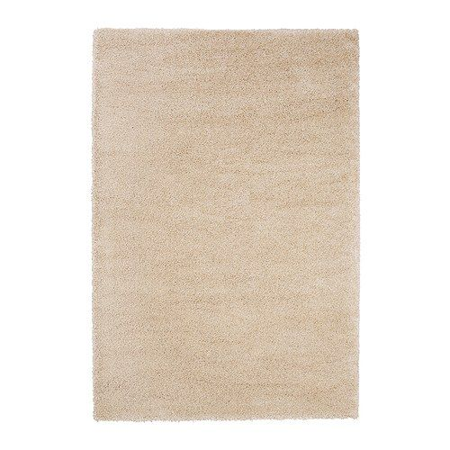 $149 5.7x7.10 Ikea, Adum rug high pile in off white, in store only…    For bigger - $199 for 6.7x9.10