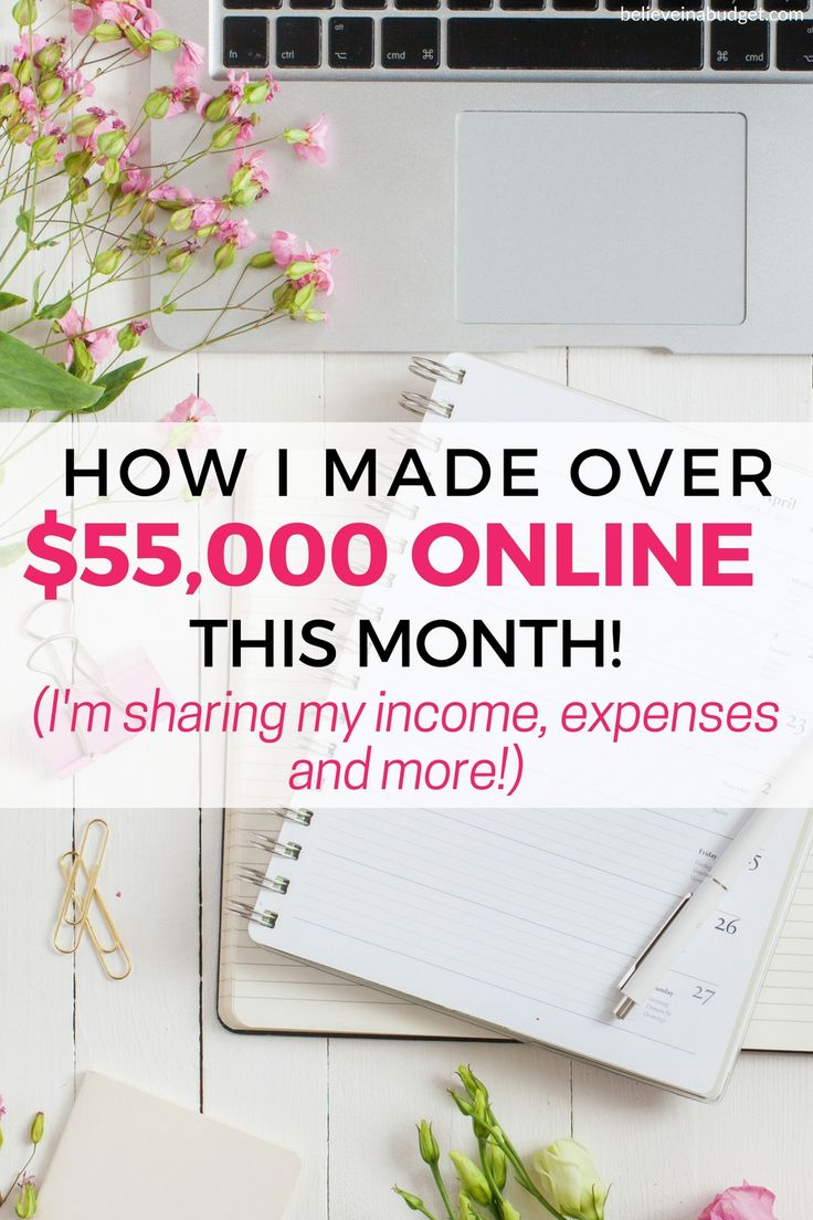 This is my online income report. I started sharing online income reports over two years ago and my income has grown steadily. I learned how to start a blog so I could make money online as a side hustle. Check out this income report to learn how I have grown my blog!