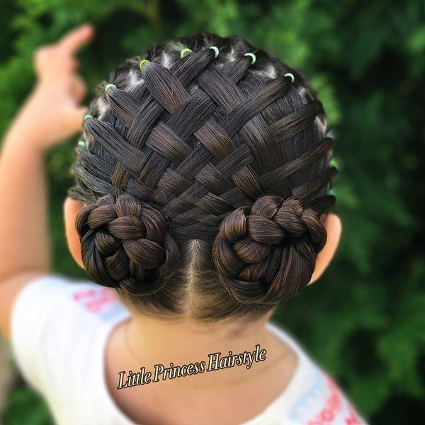 15 Beautiful Braid Hairstyles For Little Girls Beautiful Braid Girls Hairstyles Little Zopffrisuren Ausgefallene Frisuren Madchen Frisuren