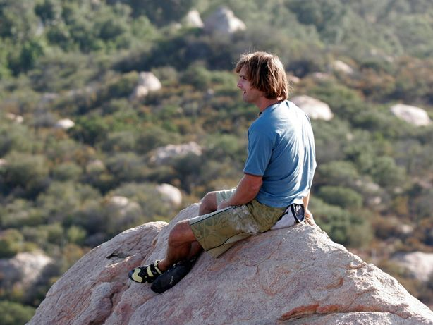 Chris Sharma - my bouldering inspiration.