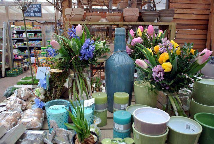 řezané květiny a dekorace