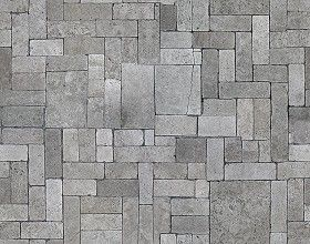 Textures   -   ARCHITECTURE   -   PAVING OUTDOOR   -   Pavers stone   -   Blocks mixed  - Pavers stone mixed size texture seamless 06130 (seamless)
