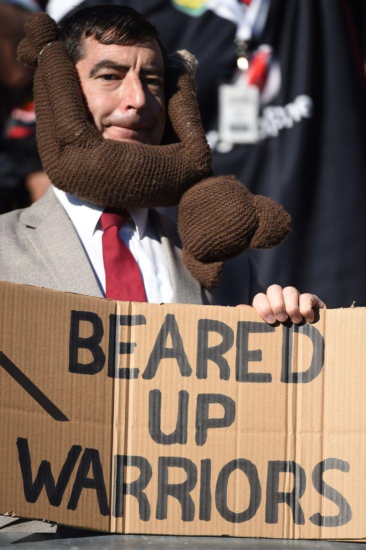 Beared Up Warriors #Fans #WarriorsForever #MrBear #Bear #Sign #Teddy