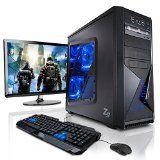 """#10: Megaport Gaming-PC Komplett-PC Vollausstattung AMD 8-Kern 8x4.20 GHz • GeForce GTX1060 • 22"""" LED • Tastatur+Maus • 16GB DDR3 • 1TB •…"""