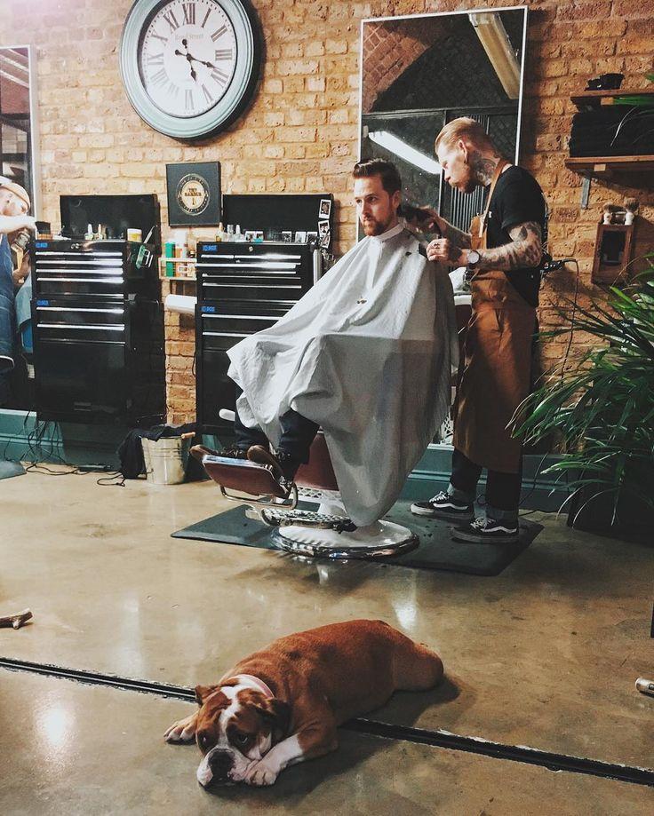 25 best barbershop ideas on pinterest barber shop barbers and hair barber. Black Bedroom Furniture Sets. Home Design Ideas