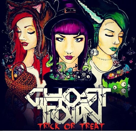 Ghost Town - Trick or Treat if u guys havnt listened to ghost town and love screamo LISTEN TO GHOST TOWN RIGHT NOW :P