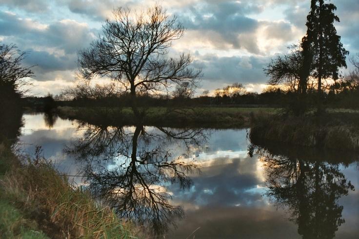 The River Stort between Sawbridgeworth and Bishop's Stortford