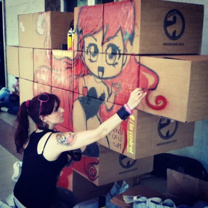 Mako Fufu, Live Painting at Pixelations 2012! https://www.facebook.com/media/set/?set=a.10152086494130331.905547.144117060330=3