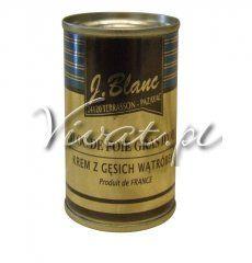 J.Blanc francuskie foie gras z gęsi 130 g