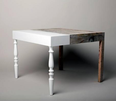 26/11/12 DESIGN OF THE WEEK: GRANNIE Table by STUDIO ZIBEN, BERLIN  (599 €)