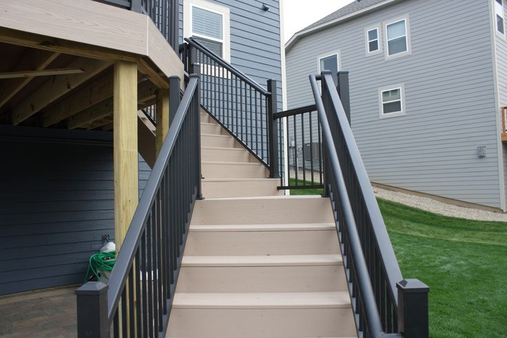 Ultralox Interlocking | Powder Coated Aluminum Railing Systems - Pictures of Railing Systems for Outdoor Patio and Decks