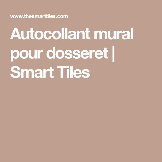 Autocollant mural pour dosseret | Smart Tiles