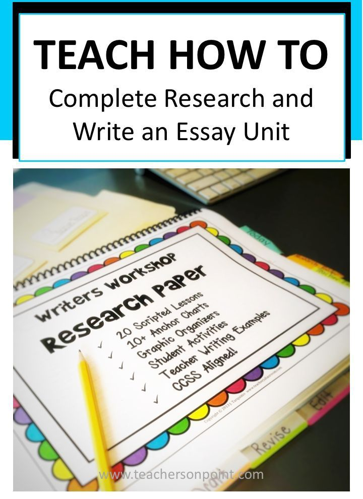 research paper lesson plan 8th grade