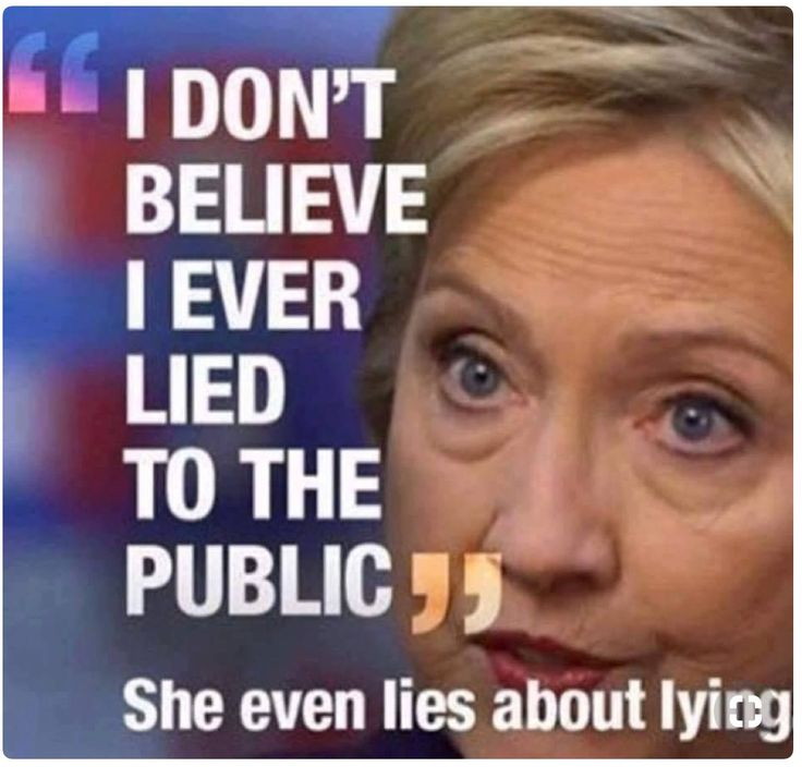 She's delusional!
